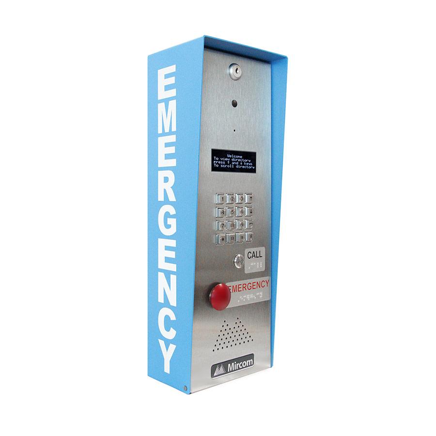 TX3-EMER-200KS Emergency Phone with Keypad right