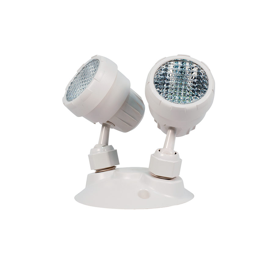 7030 LED Emergency Light with Dual Remote Head