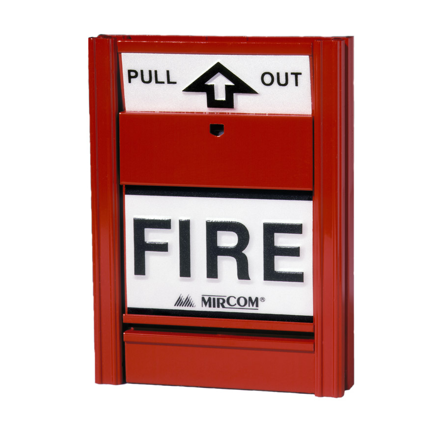 Mircom MS-401 Single-Stage Manual Fire Alarm Station