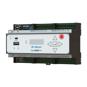 OPENBAS-HV-NX10D Main HVAC Controller With Core2 LCD Display left