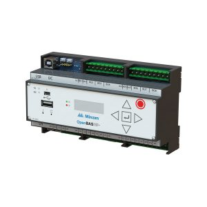 OPENBAS-HV-NX10D Main HVAC Controller With Core2 LCD Display left tilt