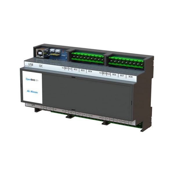 OpenBAS-HV-NX10P Universal HVAC Controller left tilt