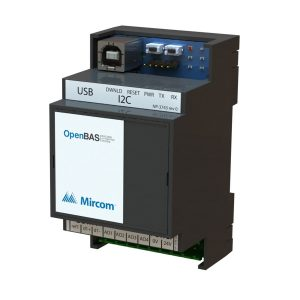 OpenBAS-HV-NX4AO Controller with 4 Analog Outputs left tilt