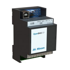 OpenBAS-HV-NX4AO Controller with 4 Analog Outputs right tilt