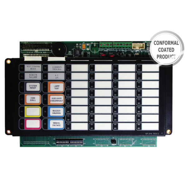 RAM-1032TZDS-CC Conformal Coated Annunciator