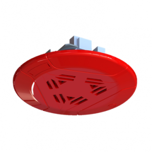 Mircom SPP-104 red ceiling speaker