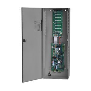 TX3-ER-8-A Elevator Restriction Relay Cabinet open