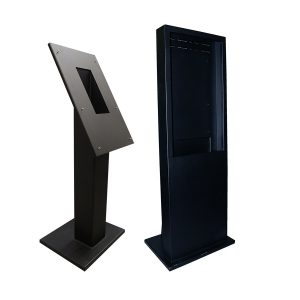 TX3-T-KIOSK2 square pillar and TX3-T-KIOSK3 enclosed pillar group