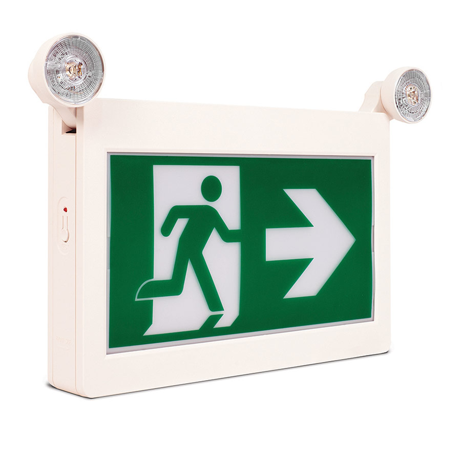 ELRM-100 Running Man LED sign twin spotlights