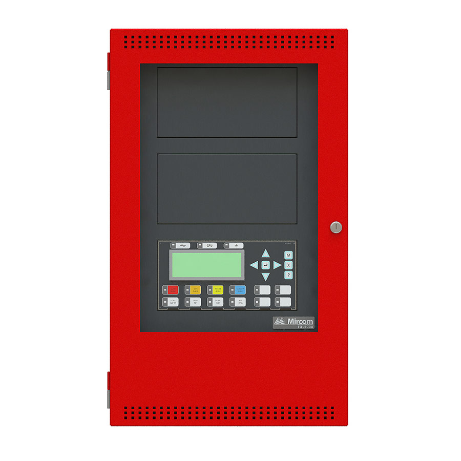 The FX-2000 Series of addressable fire alarm control panels