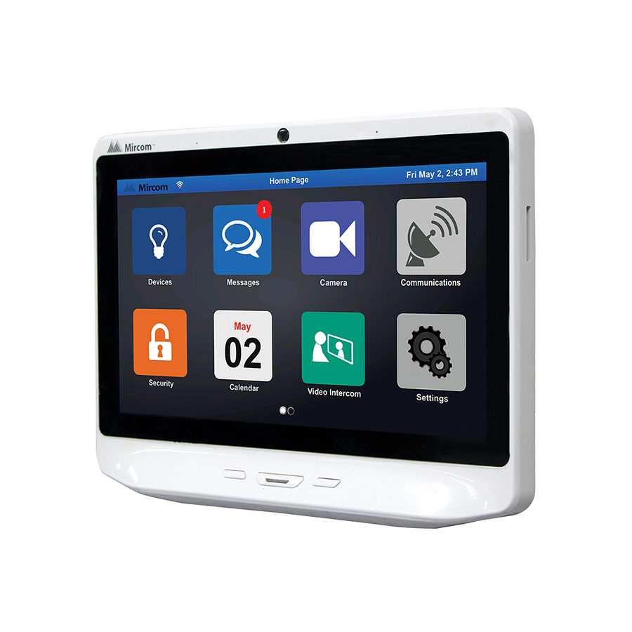 10 inch TX3-InSuite Touch Gateway left
