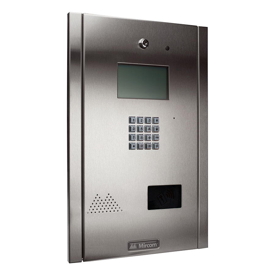 TX3 Flush Mount Continental Enclosure Telephone Entry System